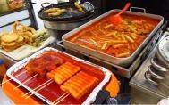 Những món ăn đường phố nổi tiếng xứ kim chi